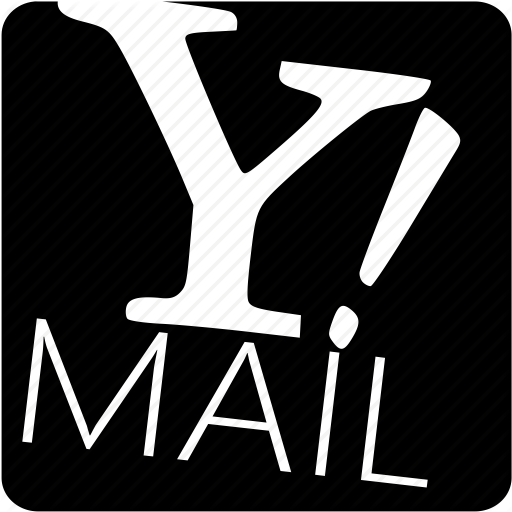 Download Yahoo Mail Icon Black Clipart Yahoo! Mail Email Logo
