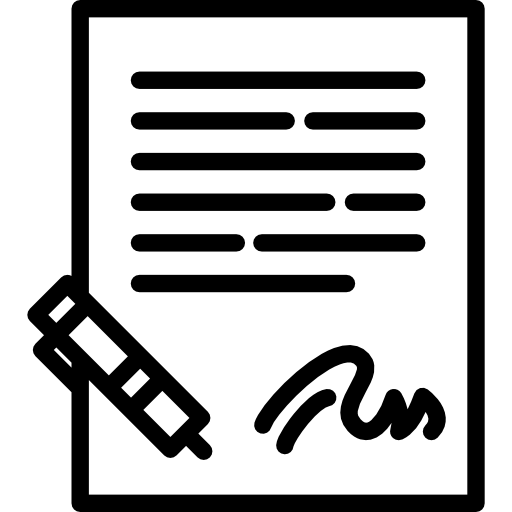 Signature, Pen, Writing, Writing Tool, Office Material, Commerce Icon