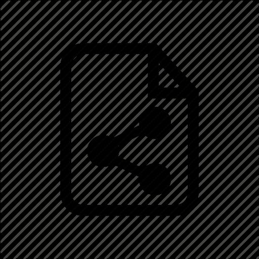 Embed File, File, Share, Share, Share File, Share Icon Icon