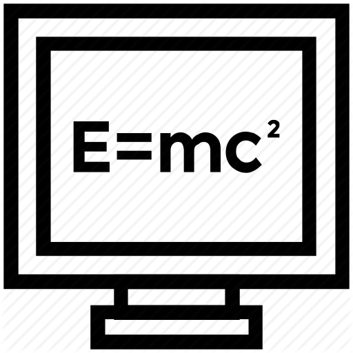 Computer Screen, Einstein Formula, Emc, Physics Formula