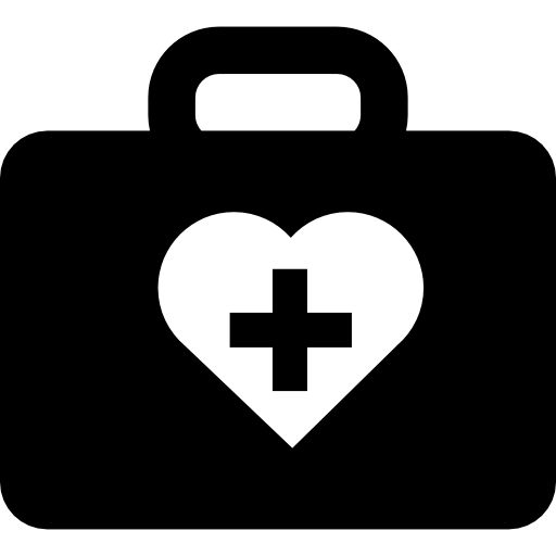 Medicine Kit With First Aid Symbol Free Vector Icons Designed
