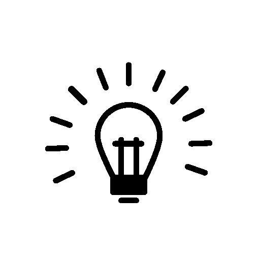 Light Bulb Tip Icon
