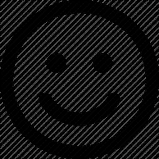 Emoji, Face, Happy, Satisfied Icon