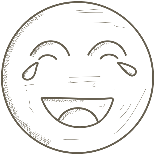 Emoticons, Face, Laughing, Smiley, Tears Icon
