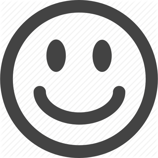 Emoticon, Emotion, Face, Happy, Simple Shape, Smile Icon