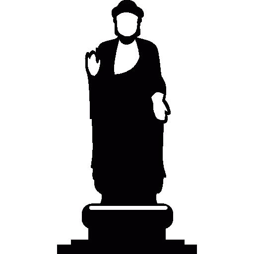 Italy, Rome, Statue, Monuments, Sculpture, Caesar, Emperor Icon