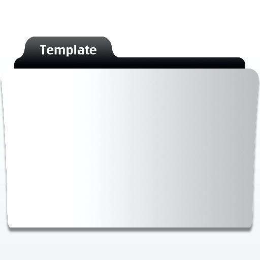 Folder Icon Template Mac Movie