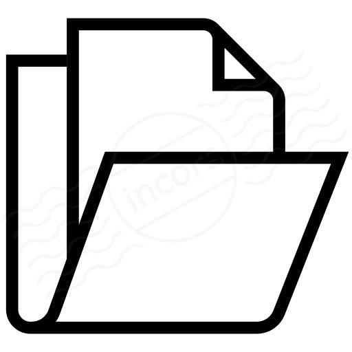 Iconexperience I Collection Folder Document Icon