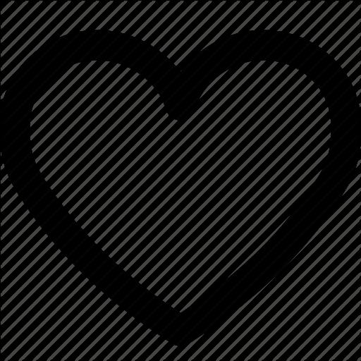 Empty Heart, Favorite, Heart, Heart Beat, Love Icon
