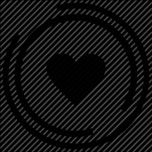 Empty, Friendship, Heart, Hearts, Love, Relationship, Shape Icon