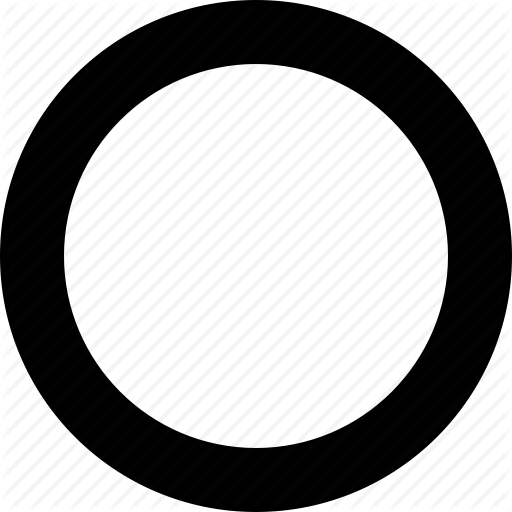 Circle Empty Image Icon Png