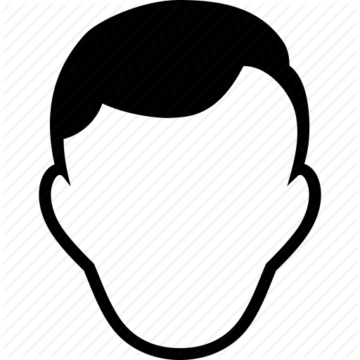 Boy, Empty Face, Guy, Male Person, Man, Nobody, Template Icon