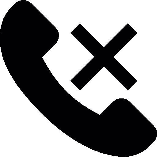 Vector Call End Icon