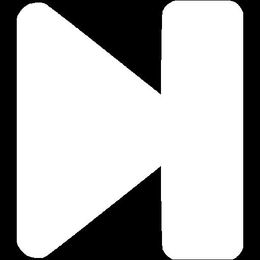 White End Icon