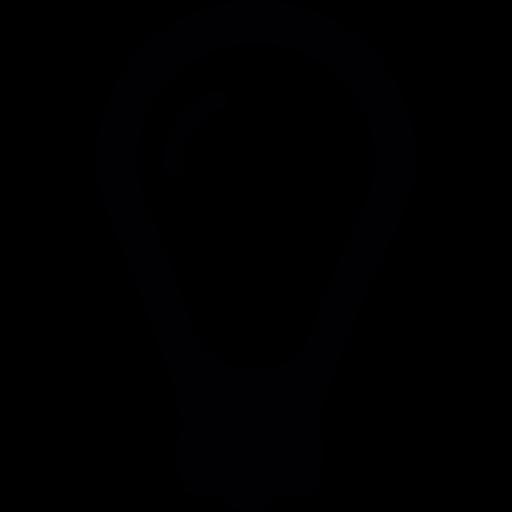 Circular Light Bulb Png Icon
