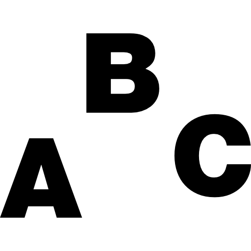 Abc Alphabet Icons Download Free Icons