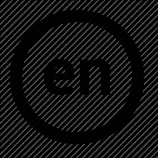 Browser, En, English, Function, Language Icon