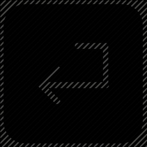 Enter, Function, Key Icon
