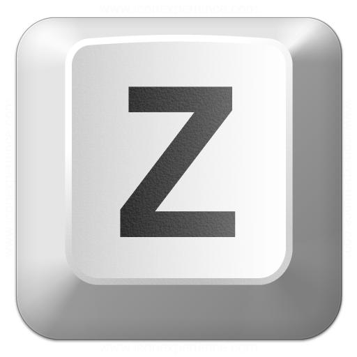 Iconexperience V Collection Keyboard Key Z Icon