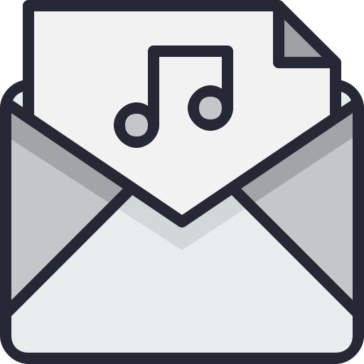 Email, Sound, Music, Envelope Icon Free Of Email Icons