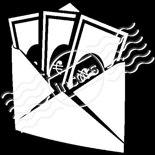 Iconexperience M Collection Money Envelope Icon