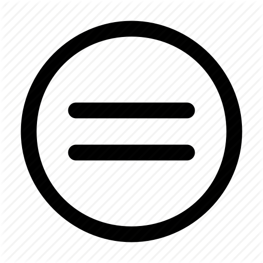 Balance, Circle, Equal Sign, Equality, Equals, Equation, Same Icon