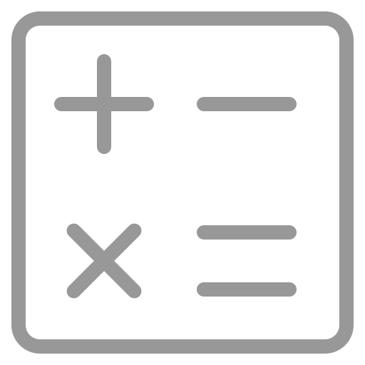 Calculation, Equal, Equal Sign Icon Png And Vector For Free