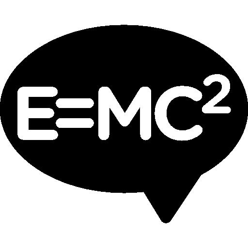 Einstein Equation Icons Free Download