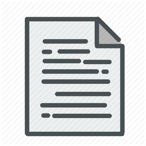 Essay, Note, Notes, Paper, Papers, Paragraph, Resume Icon