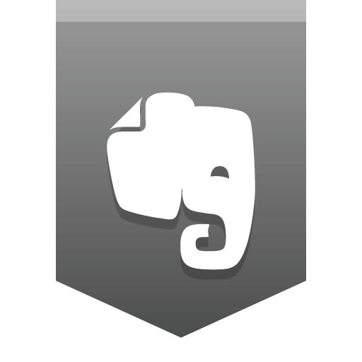 Evernote Icon Social Media Buntings Iconset Social Media Icons