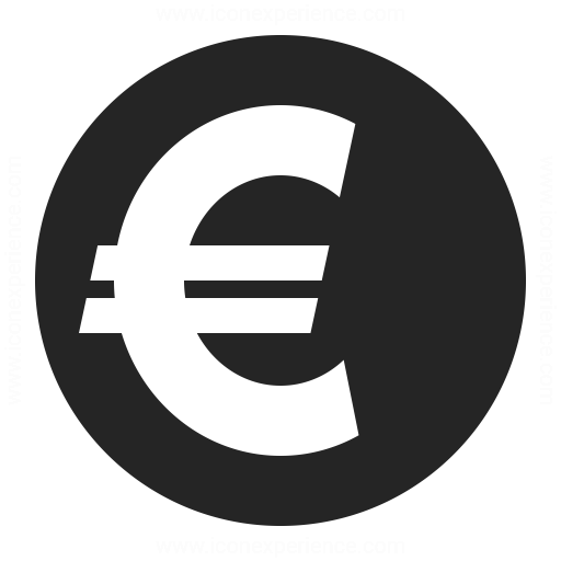 Currency Euro Icon Iconexperience
