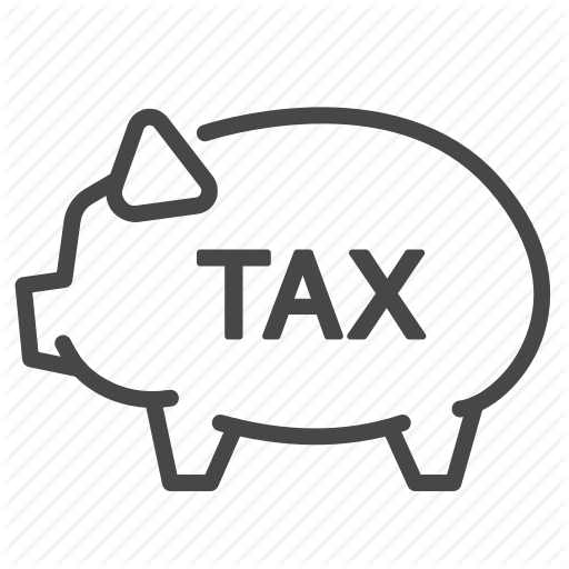 Deduction, Duties, Payable, Piggy Bank, Storage, Tax, Taxes Icon