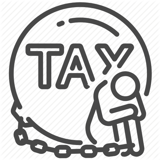 Chain, Duties, Heavy, Payable, Slave, Tax, Taxes Icon