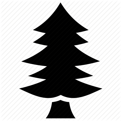 Evergreen Tree, Fir Tree, Larch Tree, Pine Tree, Poplar Tree Icon