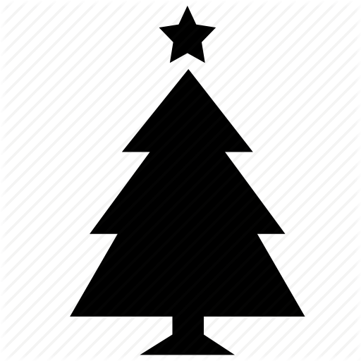 Christmas Tree Icon Transparent Png Clipart Free Download