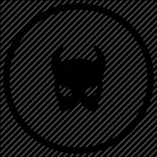 Devil, Evil, Mask Icon