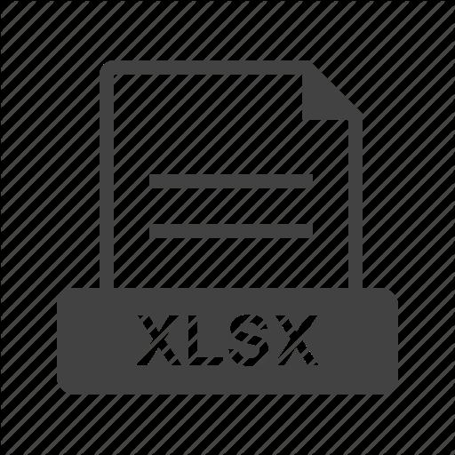 Document, Download, Excel, File, Web, Xlsx Icon