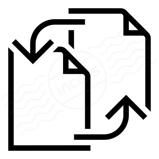Iconexperience I Collection Documents Exchange Icon