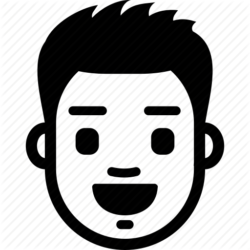 Emotion, Excited, Face, Guy, Happy, Male, Smile Icon