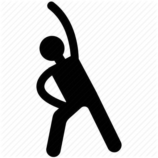 Athlete, Exercise, Fitness, Man, Man Exercising, Player Relaxing Icon