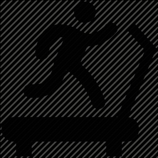 Cardio Workout, Exercise, Gym, Treadmill, Workout Icon