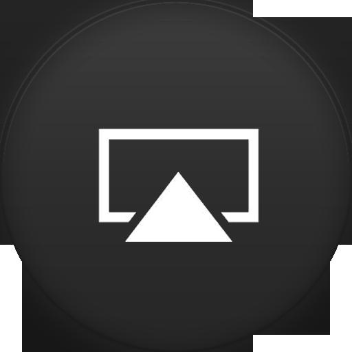 Airplay Icon Circle Addon Iconset