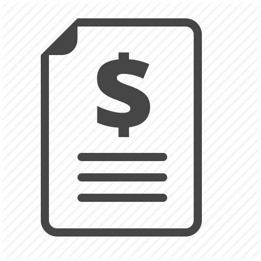 Expense Report Icon Free Icons