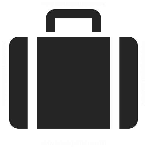 Suitcase Icon Iconexperience