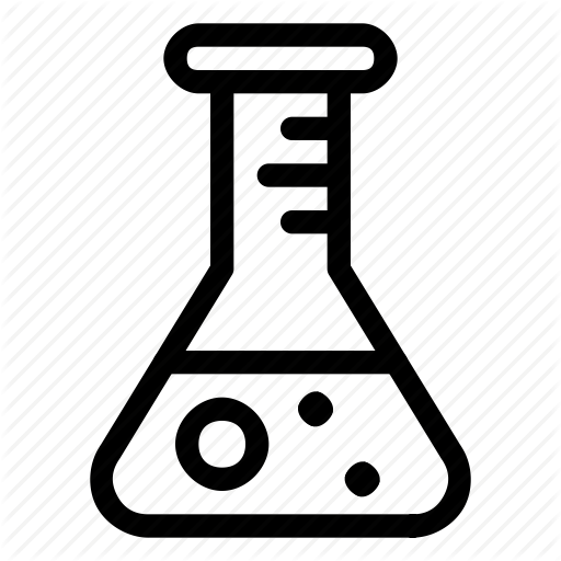 Experiment, Flask, Lab Icon