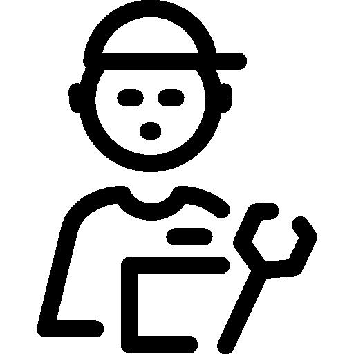 Repair Expert Icon Support Set Freepik