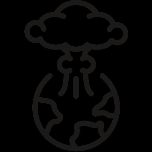 Explosion, Nuclear, Bomb, Atomic, Apocolypse Icon