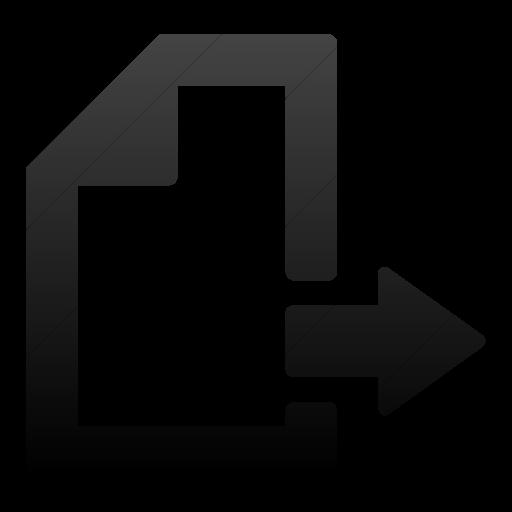 Simple Black Gradient Foundation