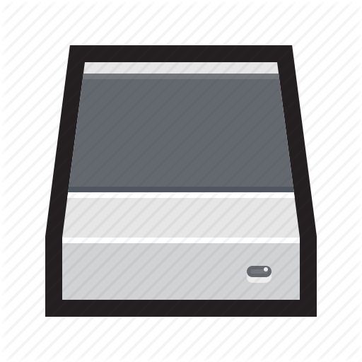 Disk, Drive, Enclosure, External, Hard Disk, Hdd, Storage Icon