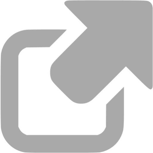 Dark Gray External Link Icon